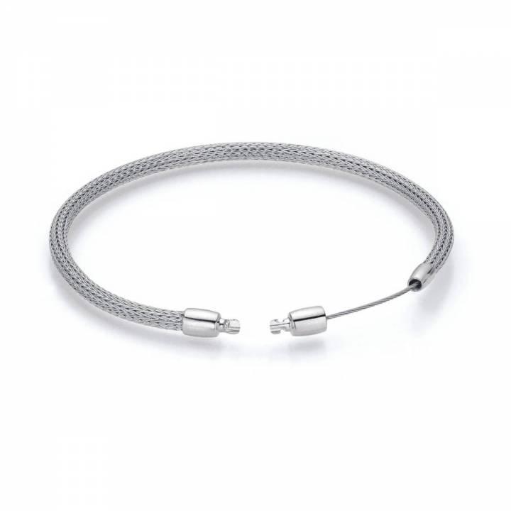 Armband für Perlschließen Weißgold