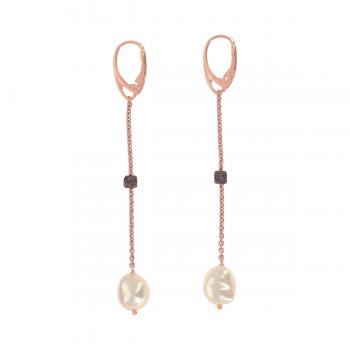 Pesavento Ohrhänger DNA mit Perle (WDNAO298)