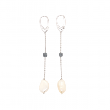 Pesavento Ohrhänger DNA mit Perle (WDNAO302)