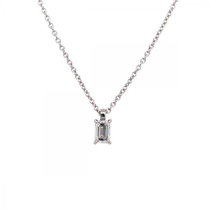 Diamant Collier 0,40ct Platin