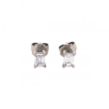 Diamant Ohrstecker 0,80ct Platin
