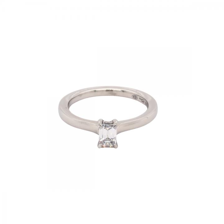 Diamant Ring 0,40ct Platin