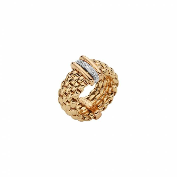 Fope Ring Panorama AN587 BBRL Gelbgold