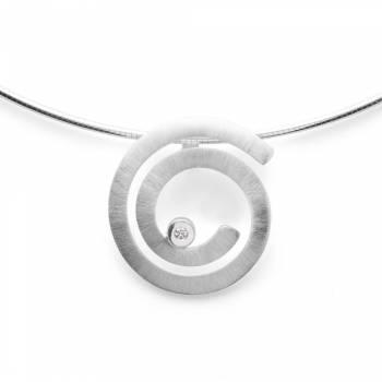 Bastian Anhänger Silber mit Diamant 38570