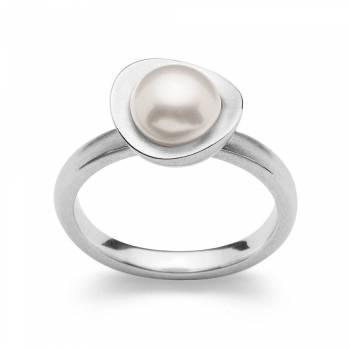 Bastian Ring Silber mit Perle 28181