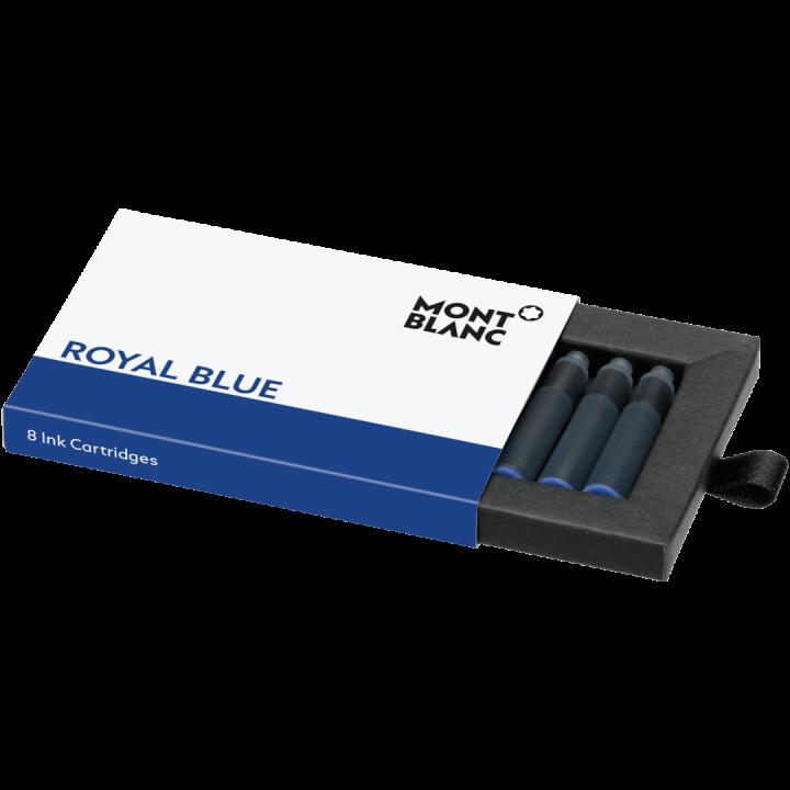 Montblanc Tintenpatronen Royal Blue 128198
