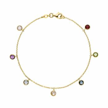 Multicolor Armband Gelbgold